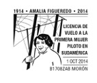 Matasellos AMALIA FIGUEREDO