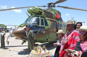 AS332 Delivery Ceremony_ Bolivia
