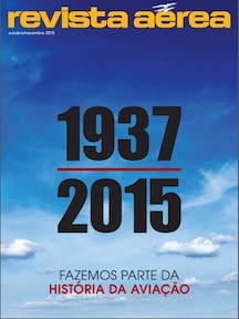 Revista Aerea - outubro / novembro 2015, Latin American Aviation magazine, Portuguese-Language Edition